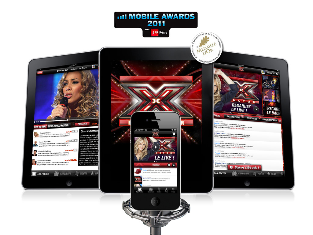 Design X Factor iPhone & iPad